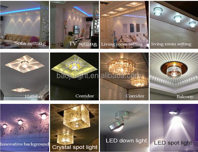 vendita calda g4 plafoniere per soggiorno-LED Downlights-Id ...