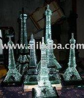 Kerajinan Menara Kaca Glass Tower crafts