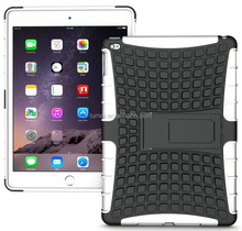 Heavy Duty Rugged TPU Skin Hard Case Cover Stand For Apple iPad Air 2