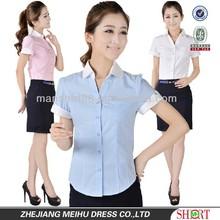 New design for women one pocket blouse