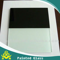 hot painted glass or colorful glass high grade decoration