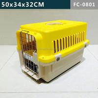 Cute & Mini Plastic dog cage, dog carrier, dog flight kennel