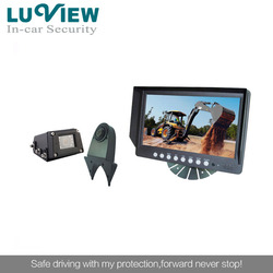 9 inch auto rear view cameras car backup system for trucks