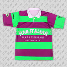 add name and number custom sublimation rugby jersey 2012