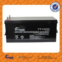 for solar ups application hot sale made in China vrla sealed lead acid 12v 200ah inverter batteries price