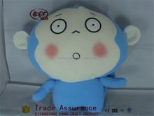 blue monkey toys/stuffed plush toy monkey