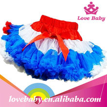 Halloween girls dancing dress chiffon pettiskirts