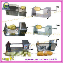 best quality professional mini household spiral potato chips cutter/slicer 2013 new arrival