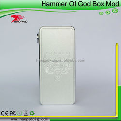 low price and high quality hammer of god box mod,1:1 clone hammer of god box mod