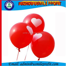 Non Latex Silk Screen Printing Red Balloon