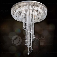 Miniature building model crystal accessories to assemble lamps cristal chandelier OM935W