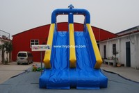 China wholesale inflatable water slides with pool, inflatable water slides for kids, slide inflatable