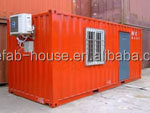 china prefab flatpack office/living room/container house for sale