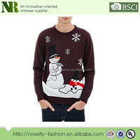 100% cotton Christmas Sweater for men ,ugly christmas sweater