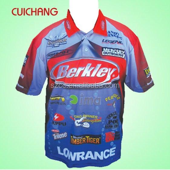 2015 custiom mens fishing polo shirts buy fishing polo for Fishing shirts cheap