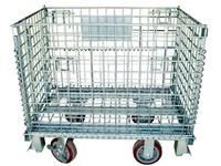 Warehouse Folding Steel Storage Cage