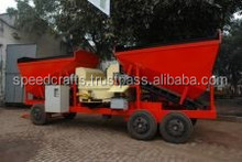 Mobile Concrete Mixing Plant, High Performance Mobile Concrete Mix Plant