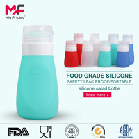 2015 Hot sale reusable silicone leak-proof empty car air freshener bottle