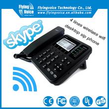 OEM 2 line cordless phone desk phone with POE IP542N