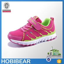 HOBIBEAR fashion 2015 breathable child sport shoes girl casual mesh running shoes