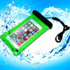 IPX8 PVC Phone Waterproof Bag with Audio-Out Jack For iphone 6 plus