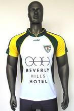 custom high qualiy sublimation print soccer jersey free print sample
