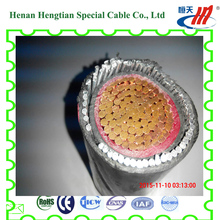 600v Low voltage electric power cable with XLPE insulated cables N2XYY