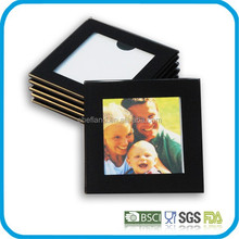 New design tempered glass coasters / cup coaster / cup pad with photo inserts
