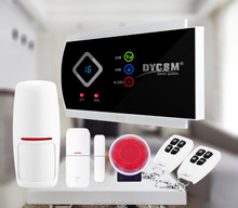 Android/IOS APP control Wireless GSM Alarm System