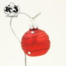 2015 Hot Sale Christmas Ball Glass 3-10cm