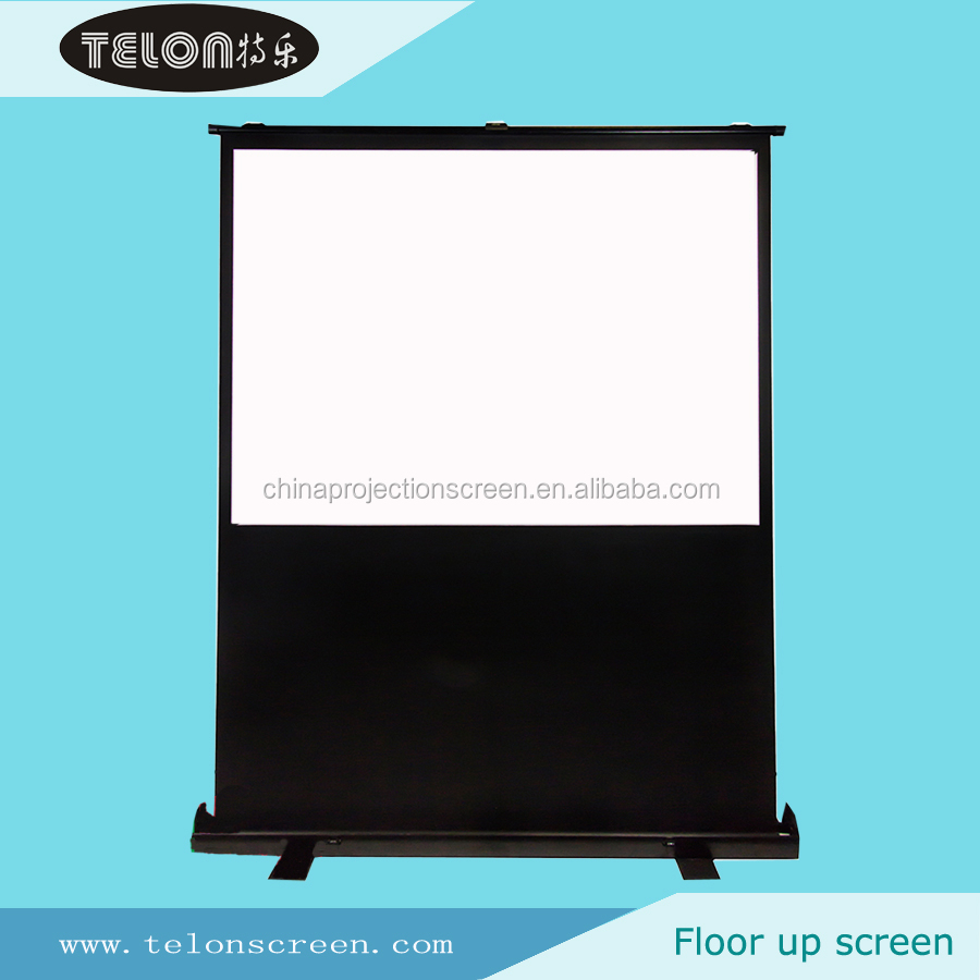 Large Portable Screen Rolled Up : Telon china manufacturer portable floor standing