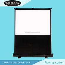 Telon chine fabricant portable projection au sol film écran rouleau jusqu'à l'écran de projection