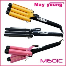 Hot new products for 2015 3 barrel curling iron hair curling iron
