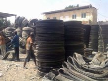 scrap tyre,mix rubber,pvc,furnace oil,pyrolysis plant, conveyor belt n V-belt
