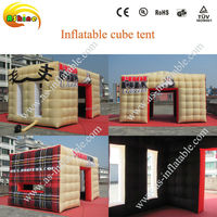 Factory price custom oxford cloth inflatable tent cube with good quality