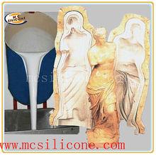 Gomma di silicone per colata di gesso cornicione muffa/gomma di silicone liquido per la costruzione di stampi