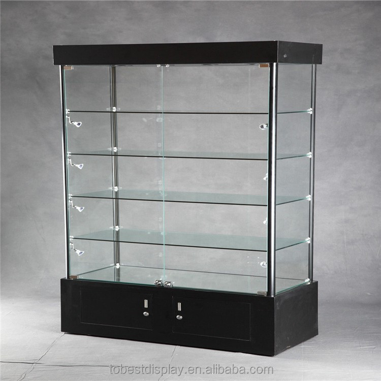 wholesale retail merchandise jewelry glass tower display. Black Bedroom Furniture Sets. Home Design Ideas