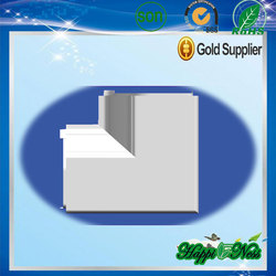 pvc house downpouts and pvc water gutters in bulk sale
