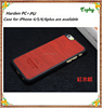 wood grain protective mobile phone case for iphone5 case cover