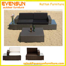 Stylish Durable All Weather Garden Rattan Sofa Sets Outdoor Furniture
