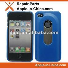 Blue Bottle Opener Case for iPhone 4S Hard Shell Case Slide Out Bottle Opener