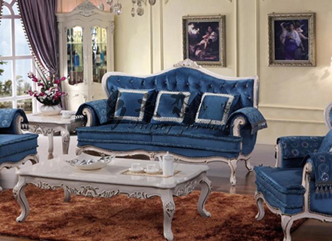 Antieke vleugel volledige landelijke stijl woonkamer sets in barok ...