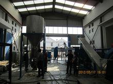 plastic flakes storage silo/PET washing line storage silo