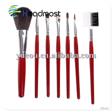 carpet cleaning brush Emily makeup brush,color shine makeup brushes,6pcs brushes makeup