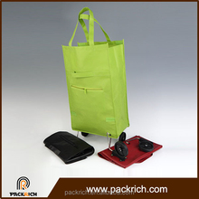 Most Popular vegetables bag with wheels cheap trolley bag