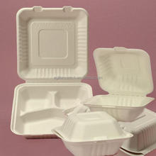 2015 Disposable Take Away Foam Food Container for 3 Compartments