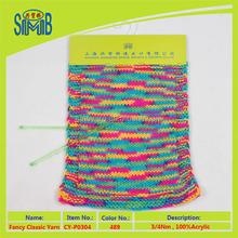 made in china 100% acrylic yarn bulky super value yarn hand knitting yarn