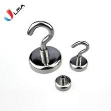 Neodymium Magnetic Hook, NdFeB Hook Magnet, Strong Magnetic Hook