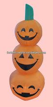 Inflatable Halloween pumpkins