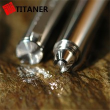 Stylish Tactical Feature Light Metal Pen, Reinforced Solid Titanium Pen, CNC Machined Titaner Military Tactical Pens
